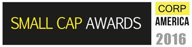 Best Commercial PR & Social Media Agency 2016: Corp America 2016 Small Cap Awards